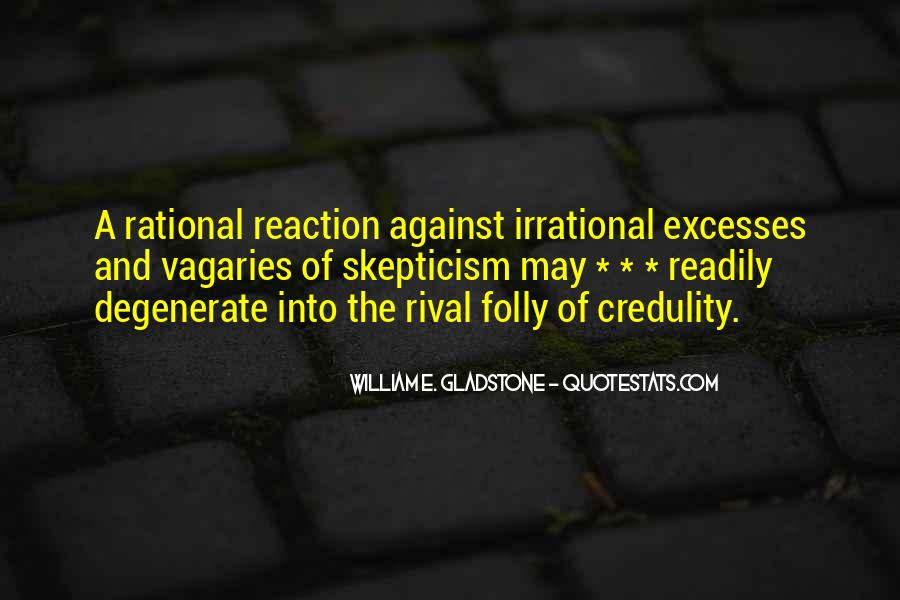 Rational Skepticism Quotes #227795