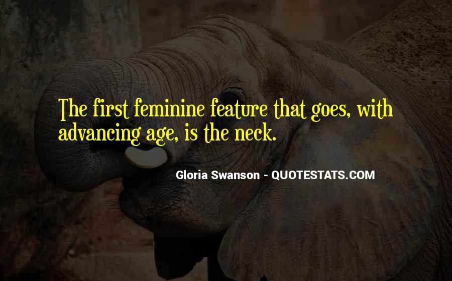 Quotes About Gloria Swanson #1743267