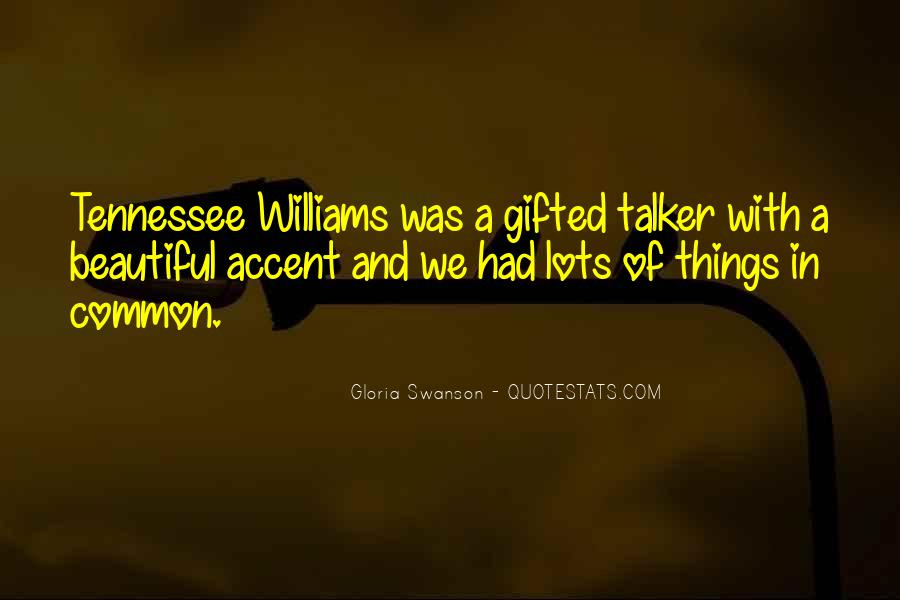 Quotes About Gloria Swanson #299225