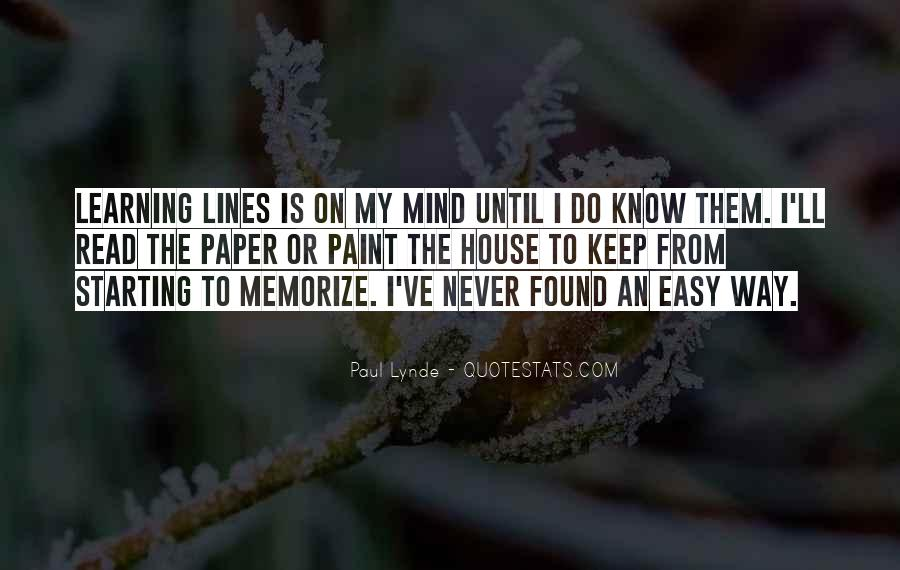 Read My Mind Quotes #501095