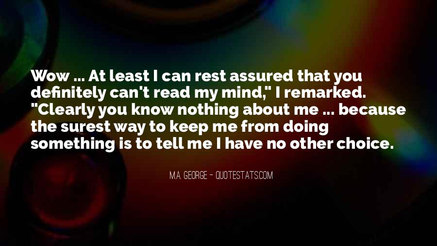Read My Mind Quotes #669905
