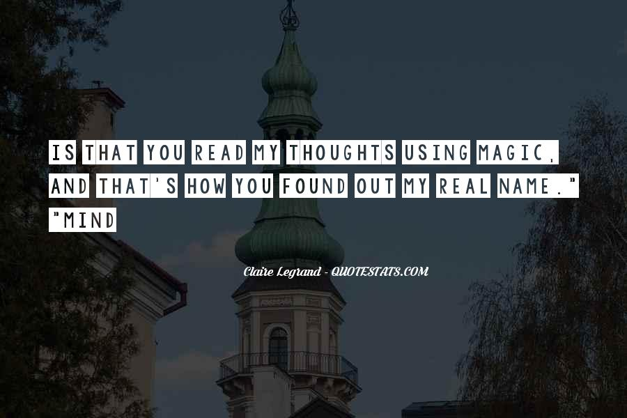 Read My Mind Quotes #845519