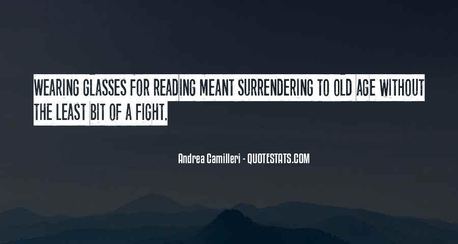 Reading Glasses Quotes #1687362