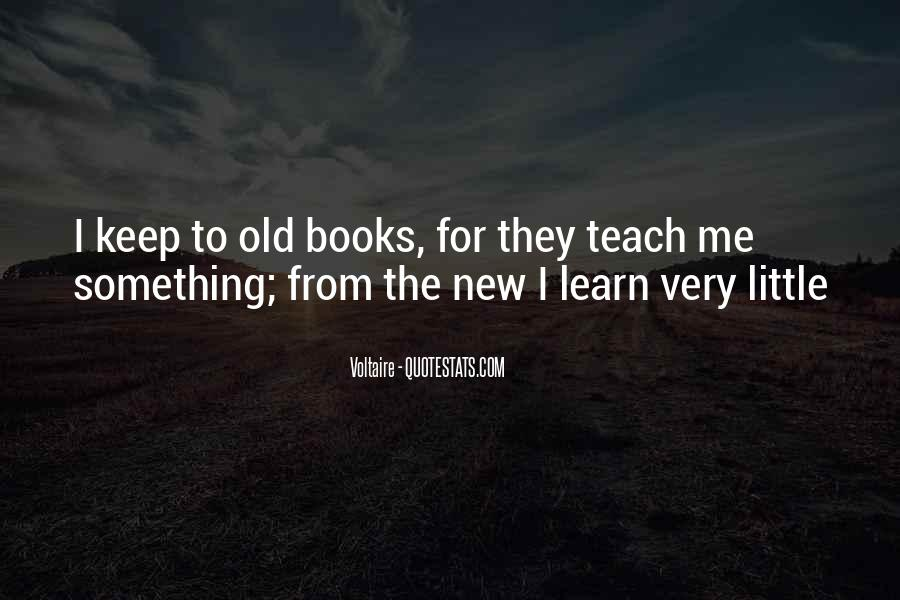 Reading Old Books Quotes #1232560
