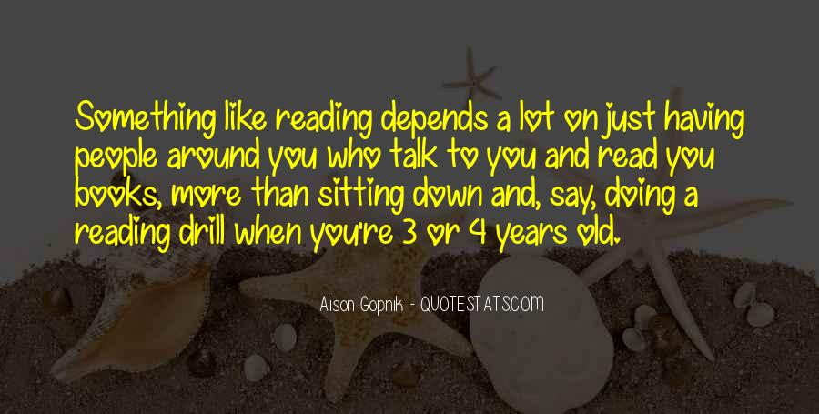 Reading Old Books Quotes #1441913