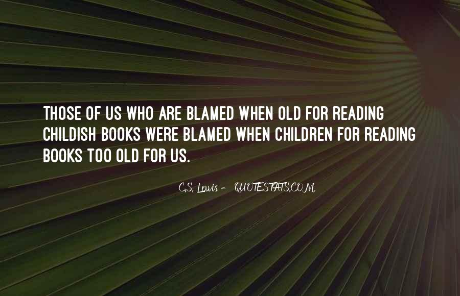 Reading Old Books Quotes #1470724