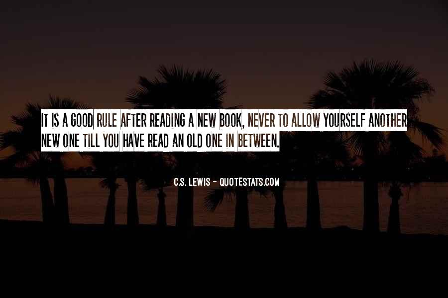 Reading Old Books Quotes #1498524