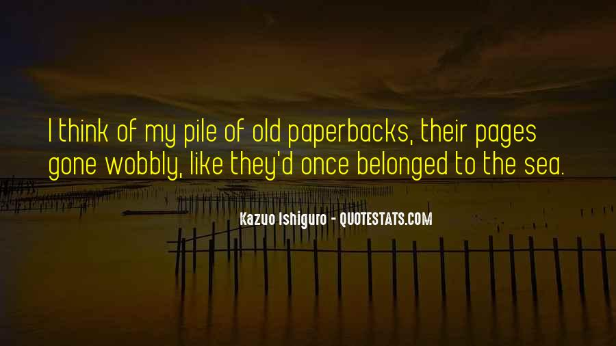 Reading Old Books Quotes #1511913