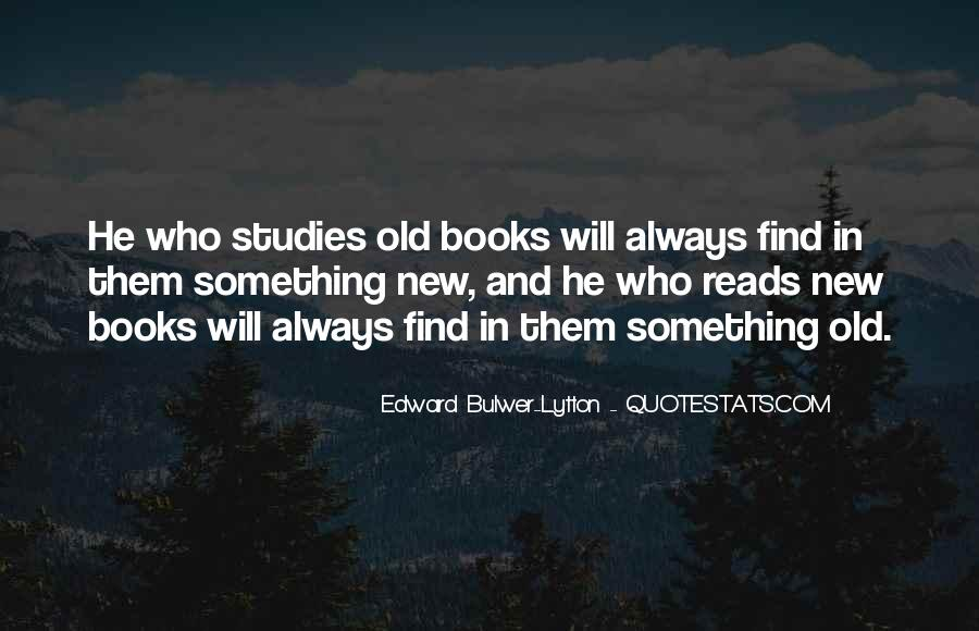 Reading Old Books Quotes #1825402