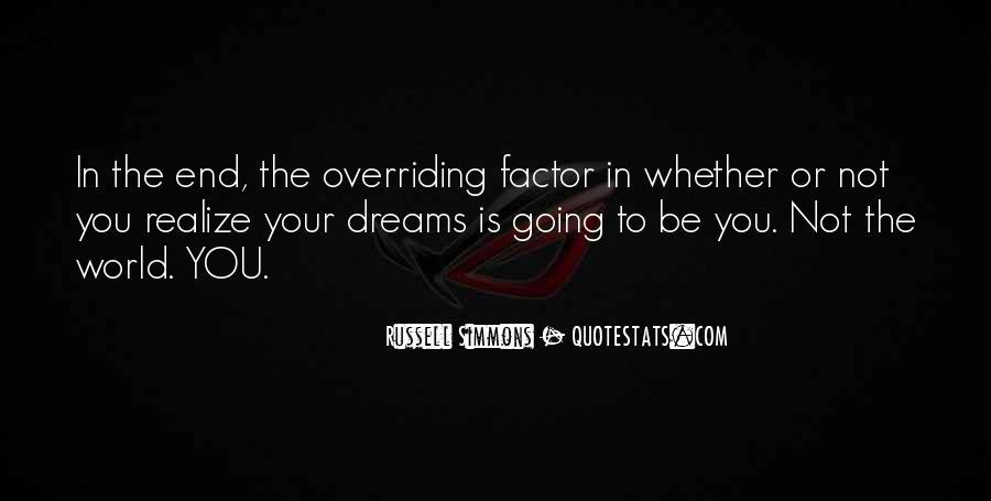 Realizing Dream Quotes #1422807