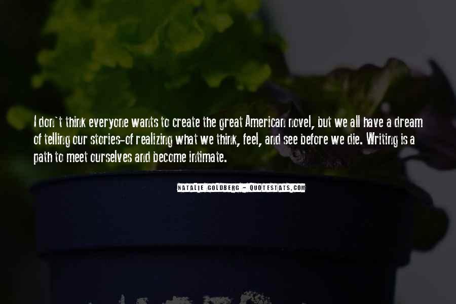 Realizing Dream Quotes #1783379