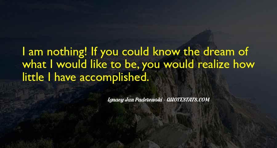 Realizing Dream Quotes #18900