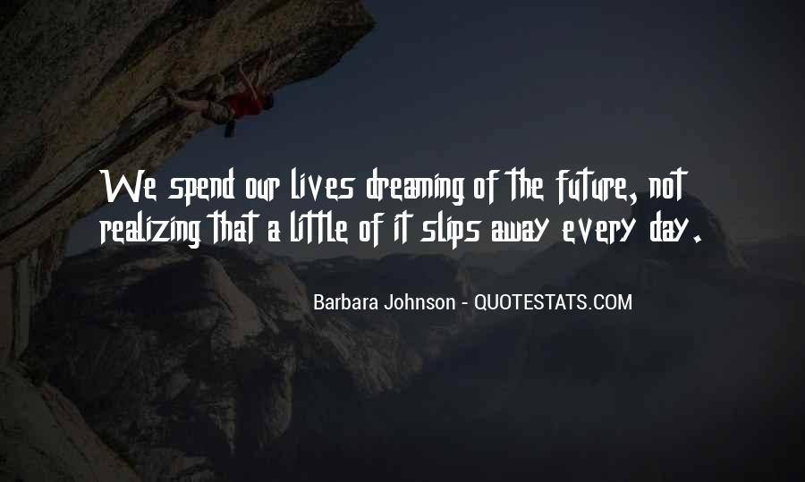 Realizing Dream Quotes #191041