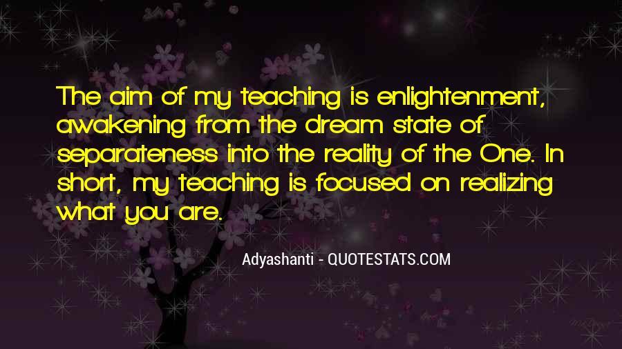 Realizing Dream Quotes #269324