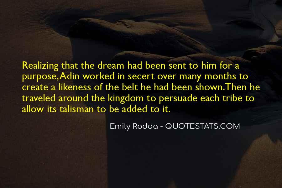 Realizing Dream Quotes #400012