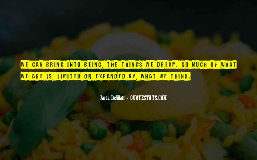 Realizing Dream Quotes #520140