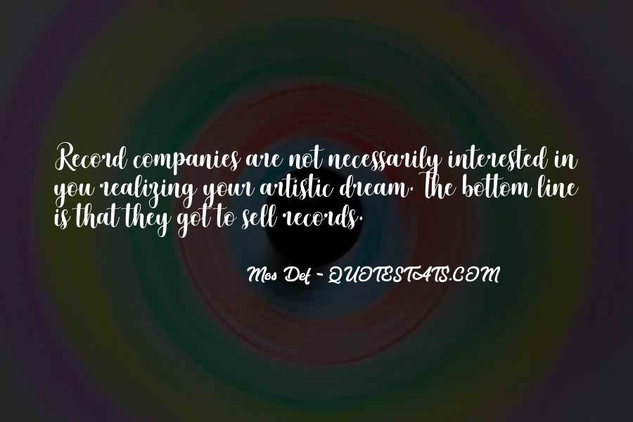Realizing Dream Quotes #642113