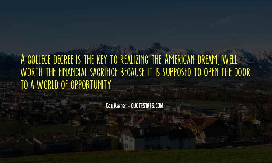 Realizing Dream Quotes #647444