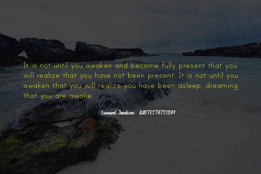 Realizing Dream Quotes #704630