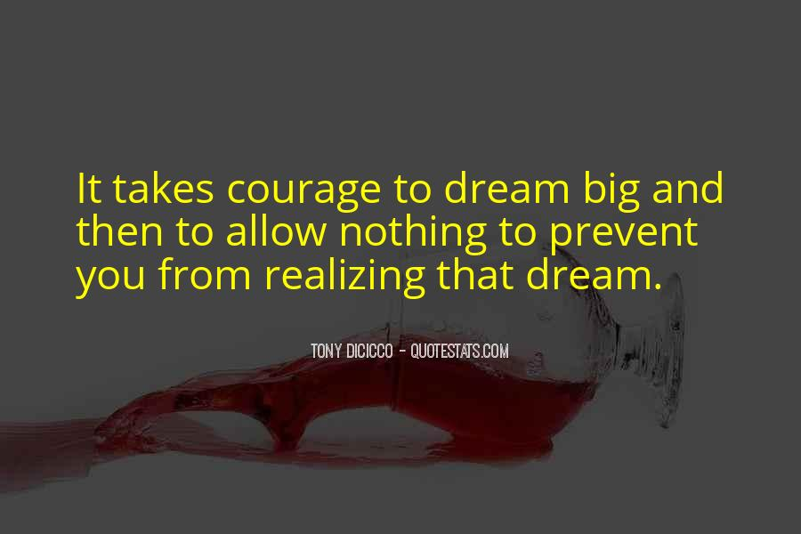 Realizing Dream Quotes #863680