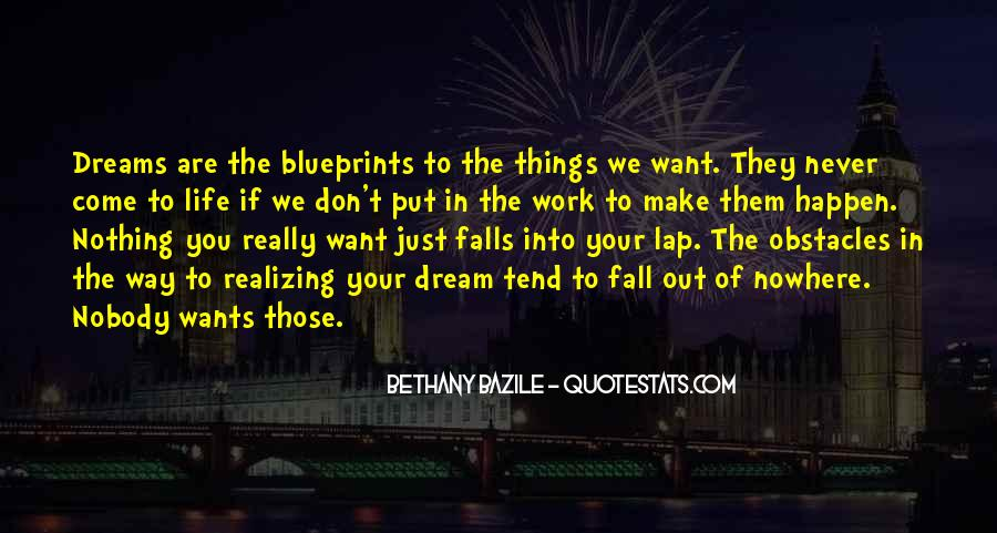 Realizing Dream Quotes #869866