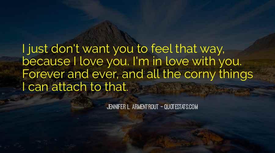 Really Corny Love Quotes #1369706