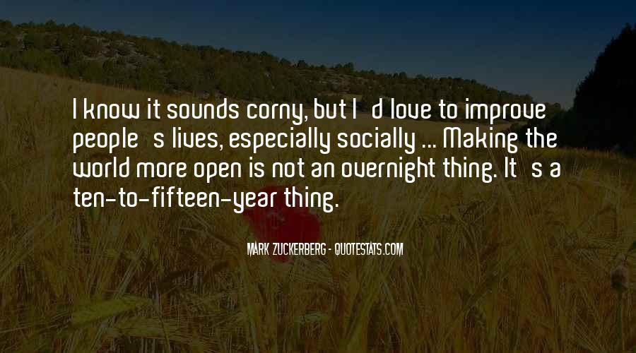 Really Corny Love Quotes #1424121