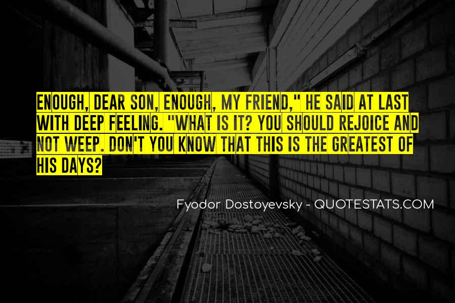 Really Deep Best Friend Quotes #545122