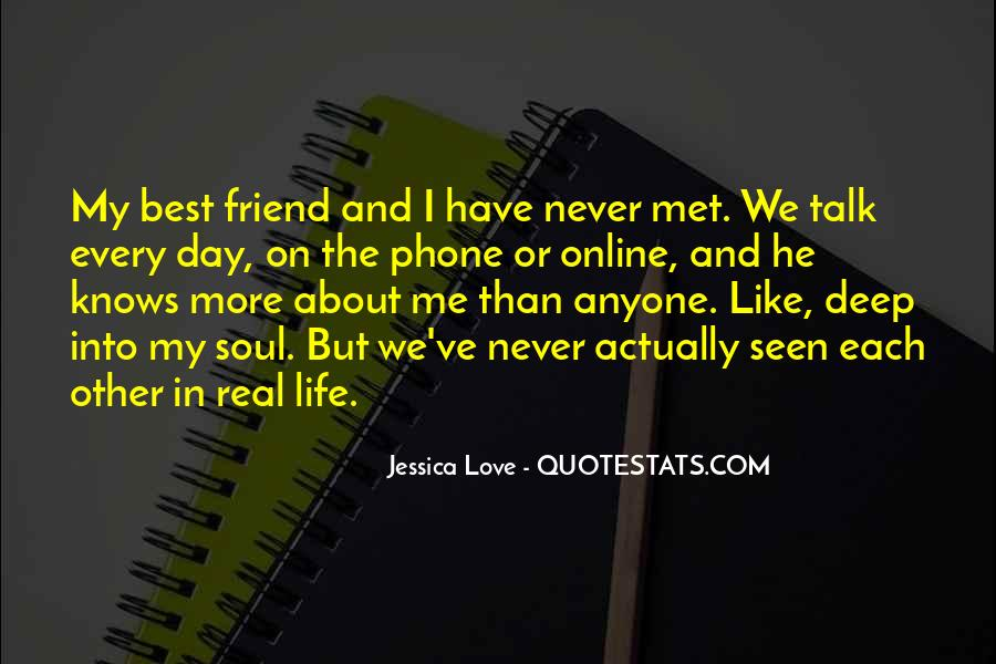 Really Deep Best Friend Quotes #668558