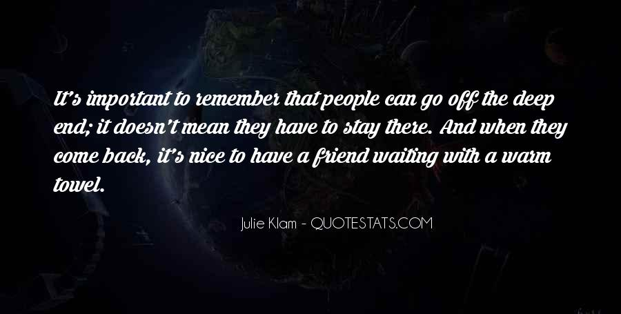 Really Deep Best Friend Quotes #997129