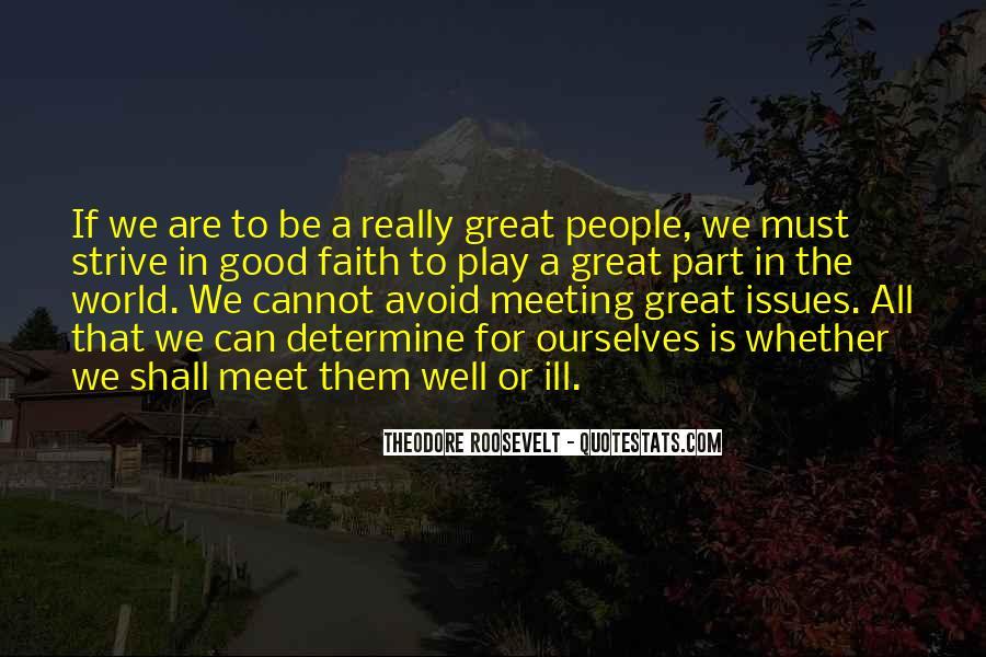Really Good Faith Quotes #1265900