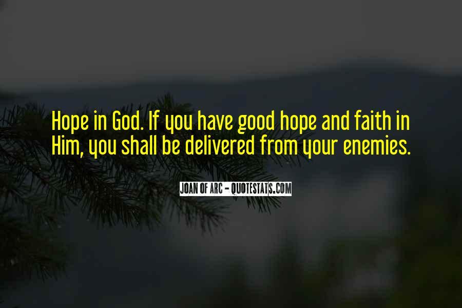 Really Good Faith Quotes #13486