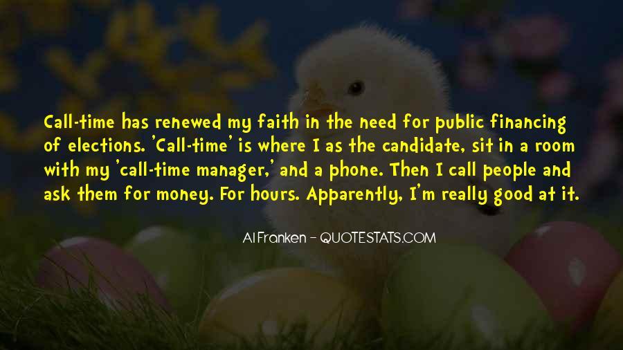 Really Good Faith Quotes #1452782