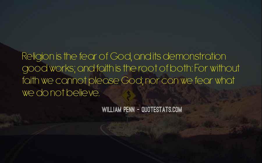 Really Good Faith Quotes #15282