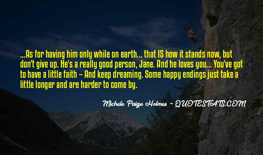 Really Good Faith Quotes #218828