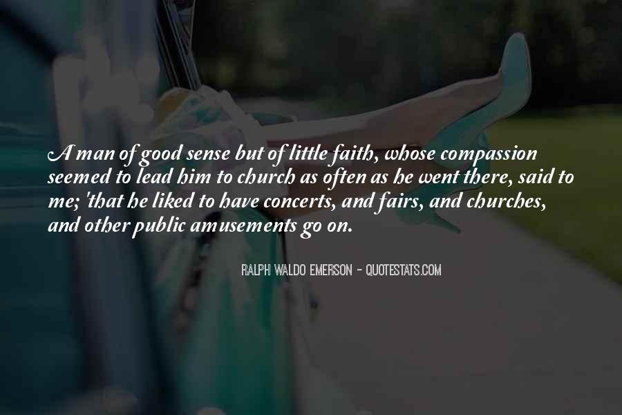 Really Good Faith Quotes #32539