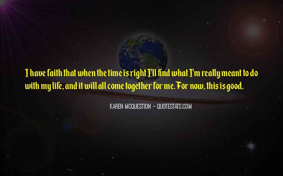 Really Good Faith Quotes #372932