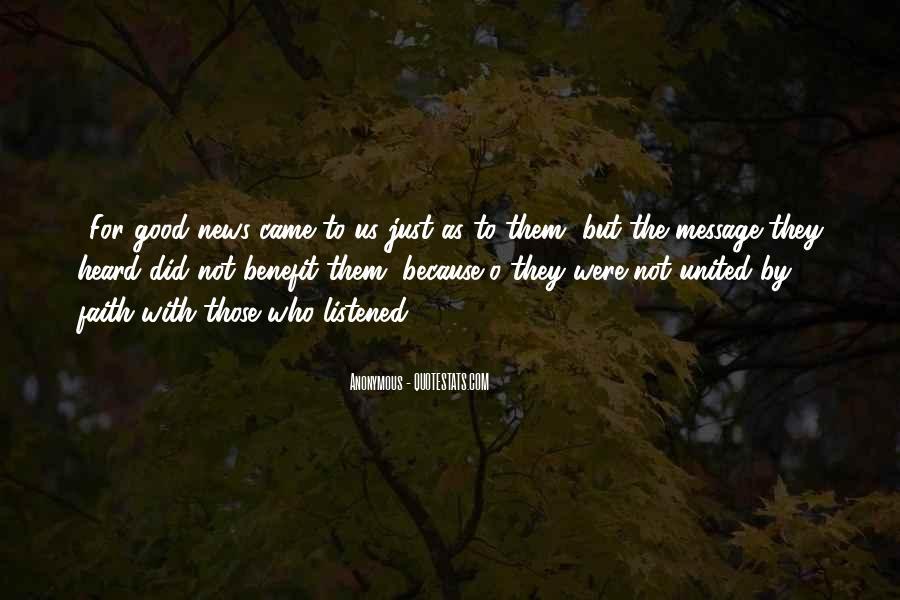 Really Good Faith Quotes #42243