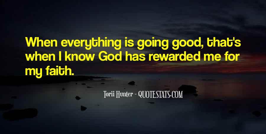 Really Good Faith Quotes #57716
