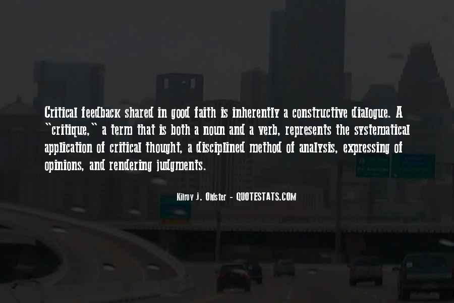 Really Good Faith Quotes #65375