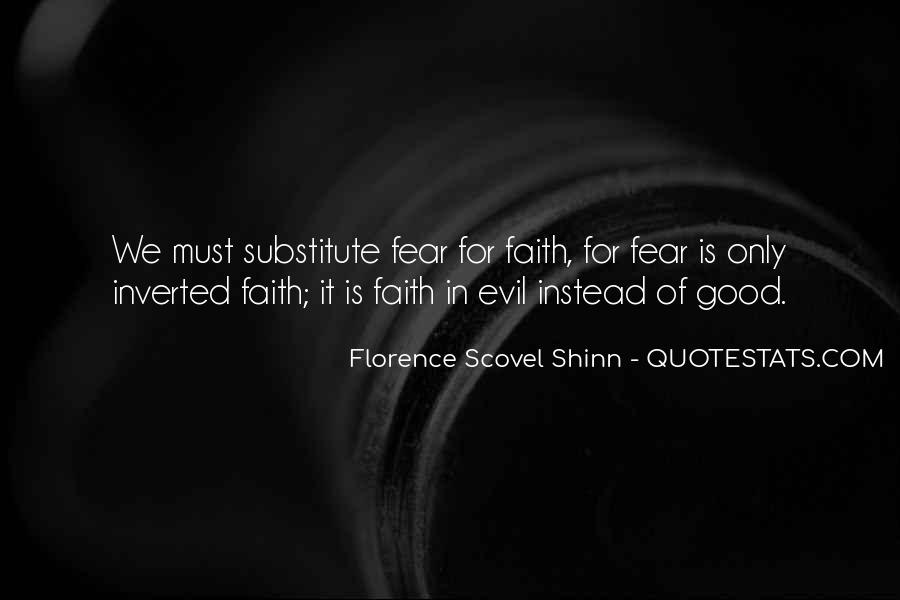 Really Good Faith Quotes #67579
