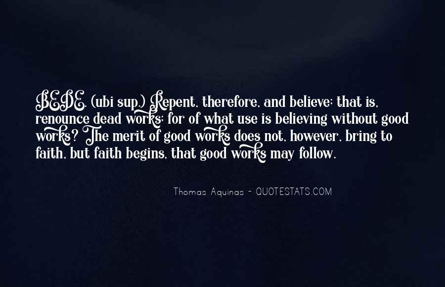 Really Good Faith Quotes #87915