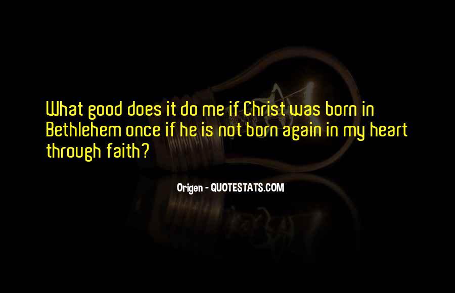 Really Good Faith Quotes #91014