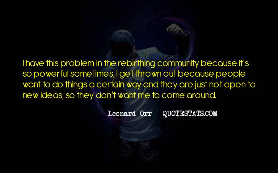Rebirthing Quotes #326267