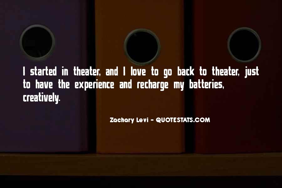 Recharge Batteries Quotes #67286
