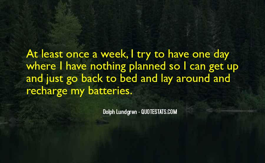 Recharge Batteries Quotes #904211