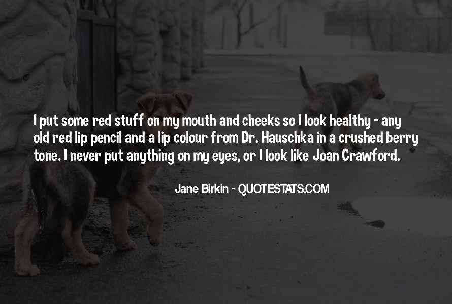 Red Berry Quotes #256666