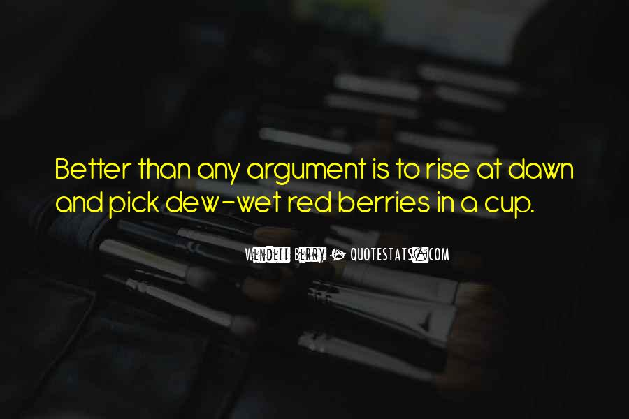 Red Berry Quotes #350037