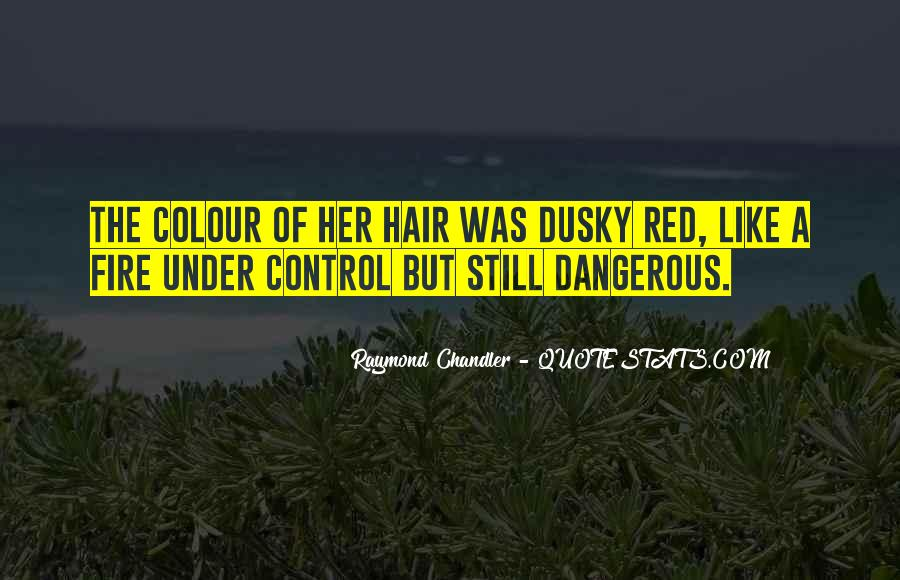 Red Hair Colour Quotes #1807567