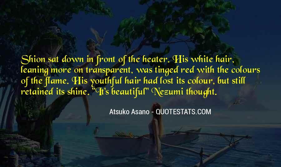Red Hair Colour Quotes #910455